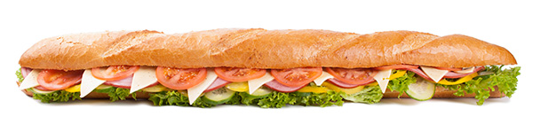 Foot Long Sandwich